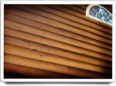 wood siding care