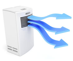 image of dehumidifier