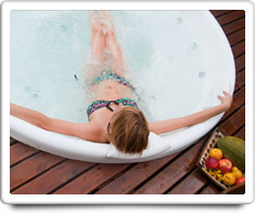 image of hot tub spa