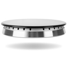 image of stove cooktop (gas)