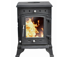 image of wood stove