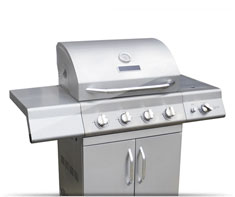 image of barbecue grill (gas)