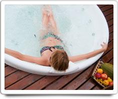 image of hot tub spa
