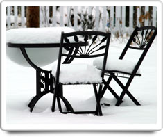 image of patio furniture