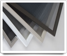 image of window screens